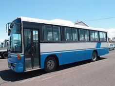 Japanese vehicles to the world: 19502A6N7 1991 Nissan Diesel Bus to Durban for Sou...