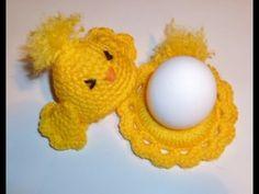 Eierwärmer Küken häkeln - Tischschmuck - Eierhalter - Eier - Ostern - Os... Holiday Crochet Patterns, Easter Crochet, Easter Crafts, Doilies, Crochet Earrings, Crochet Hats, Diy, Blog, Irene