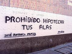 Pintadas de Madrid (I): Recopilación de poesía urbana | DolceCity.com