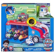 Paw Patrol Mission Paw - Mission Cruiser - Robo Dog and Vehicle BEST KIDS TOYS