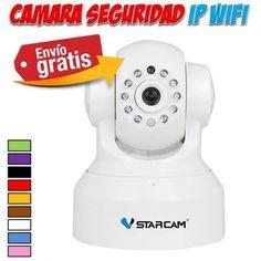 Camaras de seguridad IP wifi para vigilar nuestra casa desde internet con el movil, tablet u ordenador. Yougamebay