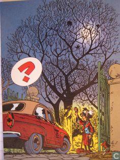 Carte postale - Franquin, André - 52. Trésors du Journal de Spirou