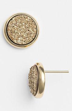 Marcia Moran Medium Drusy Stud Earrings | Nordstrom