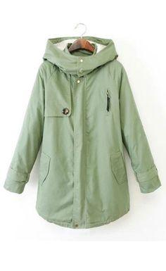 sage green spring jacket/trench/raincoat