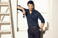 David Gandy for Massimo Dutti Spring 2013 Lookbook (II) ~ David James Gandy