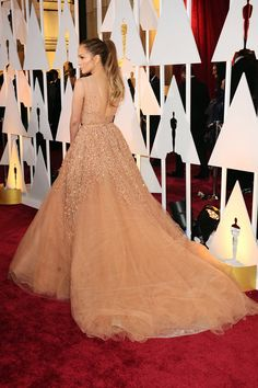 Jennifer Lopez attends the 87th Annual Academy Awards at Hollywood & Highland Center on February 22, 2015 in Hollywood, California