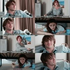 Hahahhahah❤ Kissing Booth, Series Movies, Movies And Tv Shows, I Movie, Movie Stars, Noah Flynn, Crazy Stupid Love, Joey King, Icarly