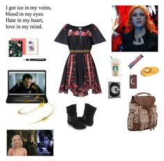"""""""Elora's (Shadowed Past) Outfit 2"""" by starlightpa ❤ liked on Polyvore featuring Temperley London, Forever 21, Kate Spade, Fountain, Billabong, xmen, DoctorStrange, Elora and pietro"""