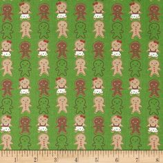 From A.E. Nathan, this cotton print fabric is perfect for quilting, apparel and home decor accents. Colors include red, white, brown and green.