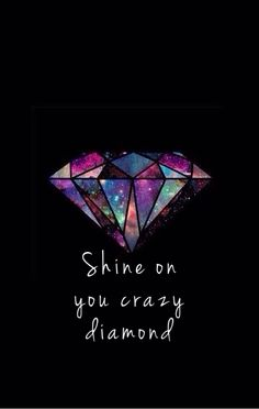 Pink Floyd - Shine On You Crazy Diamond (Original Version) Pink Floyd Lyrics, Pink Floyd Art, Wallpapper Iphone, Diamond Tattoos, Pochette Album, Geniale Tattoos, Foto Art, Classic Rock, Tattoo Inspiration