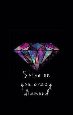 Shine on you crazy diamond #pink #floyd #pinkfloyd #wishyouwerehere