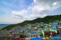 ✿ ❤ Colorful Houses by kgong23 Via Flickr: 	Busan, South Korea