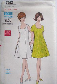 Women's Vintage Sewing Pattern  ALine Princess by Shelleyville, $8.00