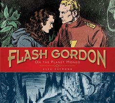Flash Gordon: On the Planet Mongo (Alex Raymond) Comic Book Pages, Comic Page, Flash Gordon Comic, In The Year 2525, Bd Comics, Cool Books, Pulp Art, Illustrations, Geek Culture
