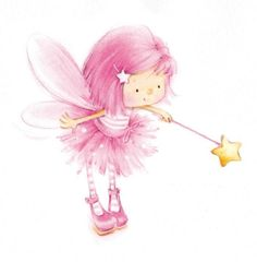 Leading Illustration & Publishing Agency based in London, New York & Marbella. Free To Use Images, Baby Fairy, Fairy Art, Cute Drawings, Cute Cartoon, Cute Art, Decoupage, Cute Pictures, Fantasy Art