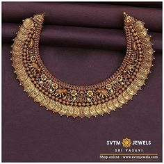 Indian Bridal Jewelry Sets, Indian Gold Jewelry, Indian Necklace, Indian Gold Bangles, South Indian Bride Jewellery, Indian Gold Necklace Designs, Bengali Jewellery, Gold Haram Designs, Latest Necklace Design