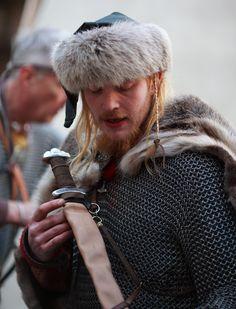 Reenactor at Jorvik Viking Center. https://www.flickr.com/photos/jorvik_viking_centre/6987342381/in/photostream/