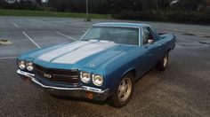 1970 Chevrolet EL Camino .Recent LHD import. There were more here. RHD SS Big Block when new.