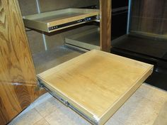 Make better use of your corner cabinets with ShelfGenie of Portlandu0027s corner cabinet solution. Our system of pull out shelves work in conjunction with each & DIY Blind Corner Cabinet Fix #Kitchen | Best Of Saving The Family ...