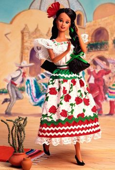 Mexican Barbie Doll 2nd Edition 1996
