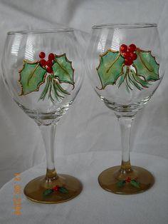 Christmas Wine Glasses                                                                                                                                                                                 More