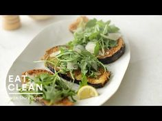 ▶ Panko-Crusted Eggplant with Arugula and Parmesan - Eat Clean with Shira Bocar - YouTube