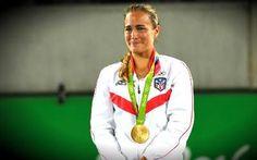 Mónica Puig le dio a Puerto Rico la primera medalla de oro en unos Juego...