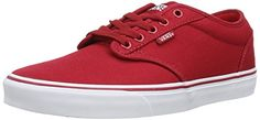 VANS Atwood Shoes US 8 Canvas Red White Vans http://www.amazon.com/dp/B00OUKCGD0/ref=cm_sw_r_pi_dp_H778ub1Y4394X