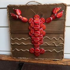lobster made out of bottle caps - Google Search