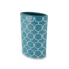 Resultado de imagem para vaso azul ceramica