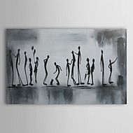 Hand-Painted+People+One+Panel+Canvas+Oil+Painting+For+Home+Decoration+–+AUD+$+205.89