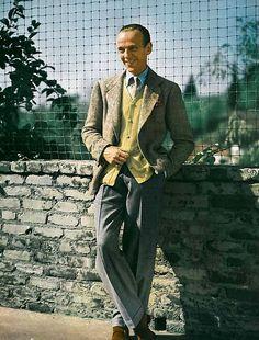Fred Astaire was always a dapper dresser.