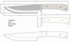 Чертежи ножей 10 вариантов (ст.2)