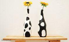 DIY Cow Floral Home Décor