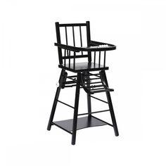 Chaise haute Combelle x Bonton noir charbon