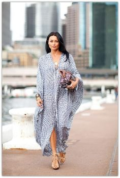 Art Symphony: Caftans for summer at KG Street Style
