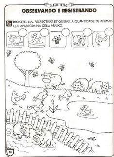 Scribd is the world's largest social reading and publishing site. Printable Preschool Worksheets, Kindergarten Math Worksheets, Preschool Learning Activities, Preschool Activities, Farm Kids, Numbers Preschool, Free Math, First Grade Math, Math For Kids