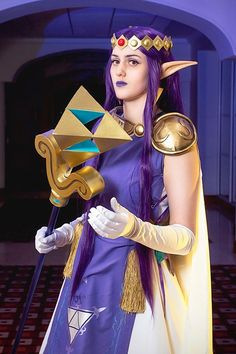 Cosplayer: Kyokyo Cosplays Character: Princess Hilda From: The Legend of Zelda: A Link Between Worlds Photographer: Lucas Ambrosio Photography of SCG - Super Cosplay Girls Country: UK