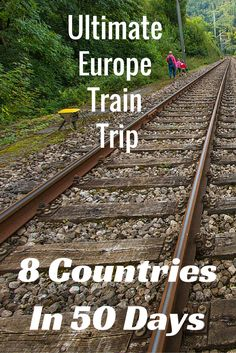 There are so many choices to be made when considering a train trip across Europe. Which countries, cities, and train routes? What days or months to travel? It's a challenge and a little overwhelming just thinking about it all, so I decided to write down our epic journey for you. 8 Countries in 50 days with our Eurail Global Pass. TRAIN TRAVEL EUROPE.