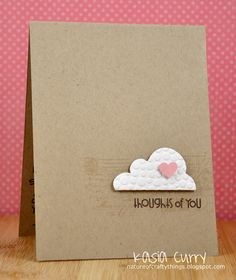 The Nature of Crafty Things  kasia curry  card
