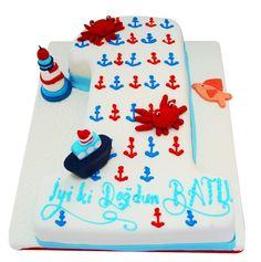 1 yaş denizci pasta - Google'da Ara