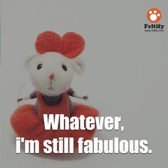 [2015.6.24] Quotes From Needle Felted Wool Cute Animals   Feltify