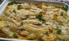 Sýrové brambory s kukuřicí recept - TopRecepty.cz Pork, Treats, Chicken, Cooking, Kale Stir Fry, Sweet Like Candy, Kitchen, Goodies, Sweets
