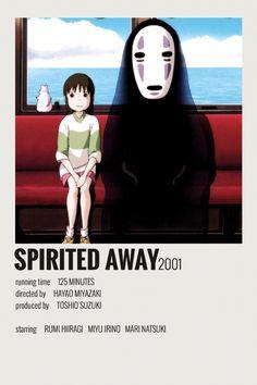 Alternative Minimalist Movie/Show Poster - Spirited Away - 5016 Wallpaper Iconic Movie Posters, Minimal Movie Posters, Minimal Poster, Movie Poster Art, Iconic Movies, Poster Wall, Poster Prints, Room Posters, Art Prints