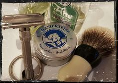 Klar Siefen Shaving Soap is seriously underrated... Rich, thick lather with great glide and it lasts blooming ages..