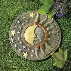 CELESTIAL GLOW STEPPING STONES Set of 3