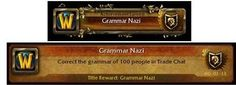 """World of Warcraft """"this should be an achievement""""....for real"""