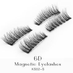 Premium Double Magnet Eyelashes Extensions 4 pcs/box