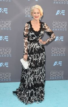 Helen Mirren bei den Critics' Choice Awards