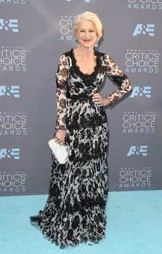 Helen Mirren aux Critics' Choice Awards 2016